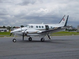 King Air C90 Aeromédico
